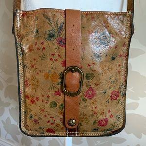 Patricia Nash Prairie Rose Crossbody Bag